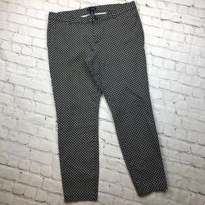 GAP Slim City Stretchy Ankle Cropped Pants Size 14